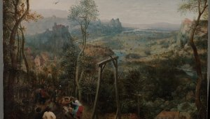 Through the eyes of Bruegel: a reconstruction of landscapes