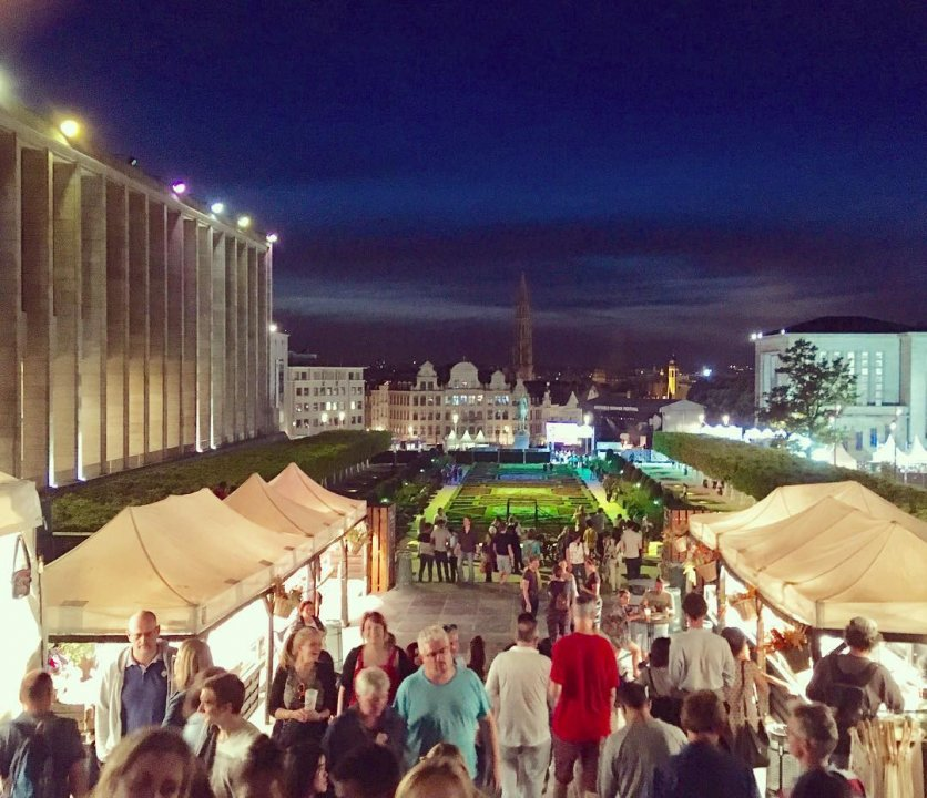 Brussels Summer Festival, a festival in a historic setting