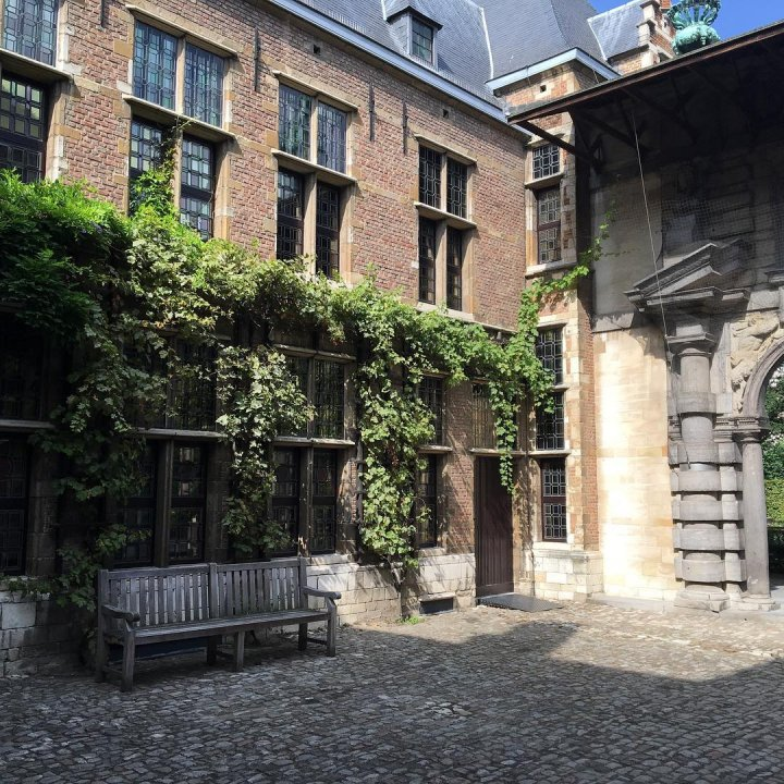 Courtyard of the Rubens House
