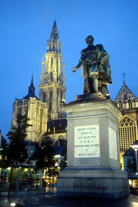 Cathedral of Our Lady, Groenplaats, Antwerp