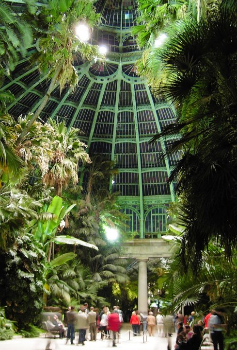 Royal greenhouses, Avenue du Parc Royal, Brussels