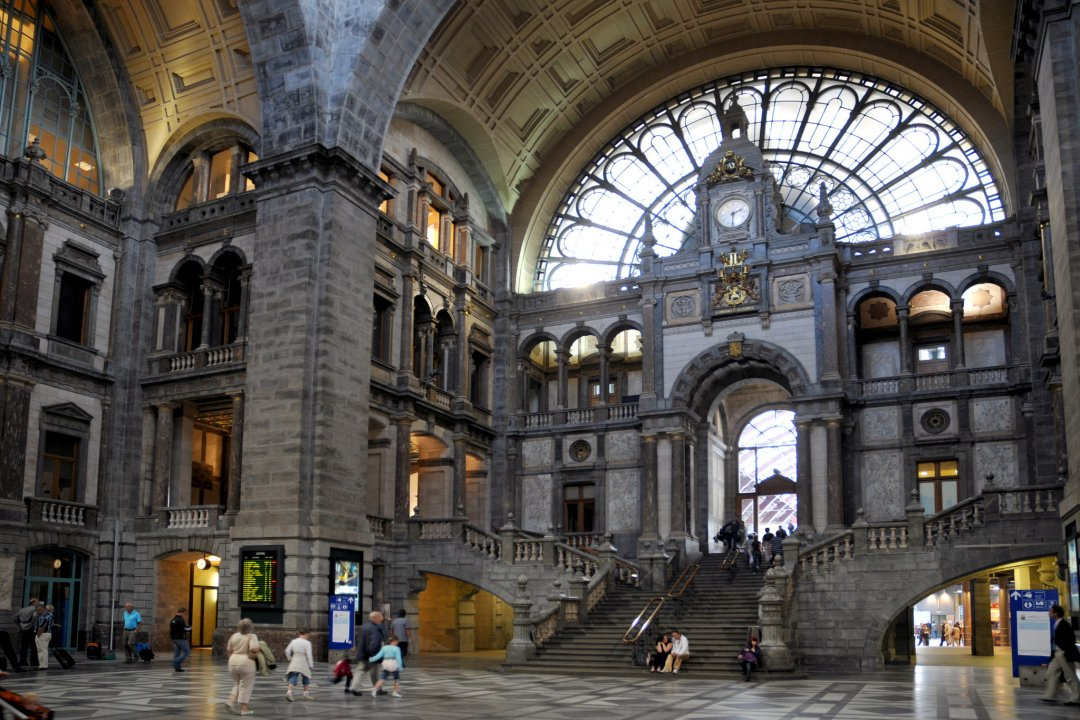 Central station, Astridplein, Antwerp